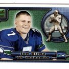 2000 Pacific Aurora promo promotional football card Jon Kitna NM/M