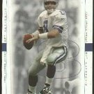 1999 Upper Deck SP Authentic promo promotional football card #1 Troy Aikman NM/M