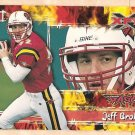 2001 Topps XFL promo promotional football card #P4 Jeff Brohm NM/M