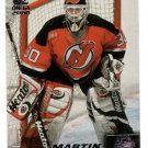 1999/2000 Pacific Omega promo promotional hockey card Martin Brodeur NM/M