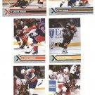 2000/01 Topps Stadium Club promo promotional hockey card #PP1 - PP6 set of 6 Adam Graves