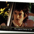 2002 Topps promo promotional card Lord of the Rings Fellowship of the Ring movie NM/M P1