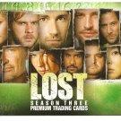 2007 Inkworks promo promotional card Lost Season 3 TV show L3-1