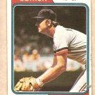 1974 Topps baseball card #215 Al Kaline Detroit Tigers G - crease with tiny tear