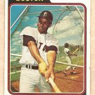 1974 Topps baseball card #523 Cecil Cooper Boston Red Sox G/VG