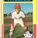 1975 Topps baseball card #420 Larry Bowa Philadelphia Phillies VG