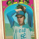 1972 Topps baseball card #29 Bill Bonham Chicago Cubs EX/NM