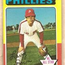 1975 Topps baseball card #420 Larry Bowa Philadelphia Phillies NM