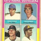 1975 Topps baseball card #619 (B) Benny Ayala Nyls Nyman Tommy Smith Jerry Turner VG small crease