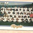 1978 Topps baseball card #659 (B) Texas Rangers team card checklist - UNMARKED NM