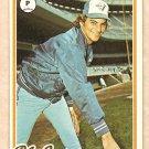 1978 Topps baseball card #496 Jim Clancy Toronto Blue Jays NM