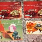 6 ORIGINAL 1967 - 1970 Mattel Hot Wheels (HotWheels) Catalogs & RodRunner instruction sheet