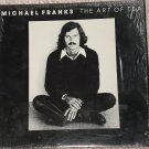 Michael Franks: The Art of Tea LP vinyl record album 33rpm, 1975