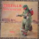 "1989 Godzilla Back in the USA calendar - rare! full color 12"" x 12"""