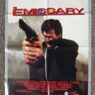 The Emissary movie poster 26 x 40 folded - never displayed! Ted Leplat, Terry Norton