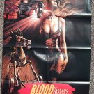 Blood Sisters movie poster 24 x 36 folded, Amy Brentano, Shannon McMahon