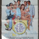 Dirty Laundry movie poster 24 x 36 folded, Leigh McCloskey, Sonny Bono, Frankie Valli