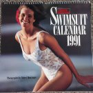 Sports Illustrated 1991 Swimsuit Pin-Up Calendar Elle MacPherson, Kathy Ireland, Rachel Hunter