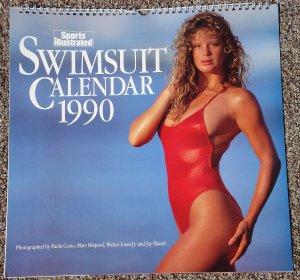 Sports Illustrated 1990 Swimsuit Pin-Up Calendar Kathy Ireland, Elle MacPherson, Rachel Hunter