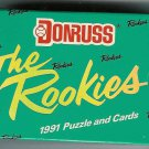1991 Donruss Rookies baseball card set, 56 cards, Factory sealed, never opened, MINT