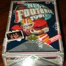 1991 Upper Deck Football card wax box Find The (Joe) Montana series, 36 packs, never opened, MINT