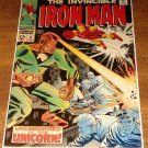 Iron Man #4 (1968) comic book, Marvel Comics, The Unicorn VF/NM silver age