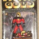 Marvel's Gold Captain Marvel action figure 1997, MIP Toy Biz Mar-Vell