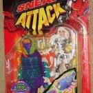 Marvel Spider-Man Sneak Attack Silver Sable action figure 1998, MIP Toy Biz spiderman
