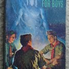 1957 Boy Scouts of America Handbook paperback book - 568 pages! Scouting camping