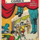 Detective Comics #212 (1954) comic book DC Comics Batman & Robin vs the Puppet Master - VG/F