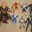 Marvel & DC Super Hero action figures Batman, Talk Back Sabretooth, Wolverine more