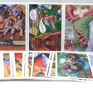 1989 Killer cards (series 2 II) card set, 45 cards of ways to die, NM/M not for the squeamish