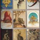 1993 William Stout - Lost Worlds fantasy art artwork card set, 90 cards NM/M