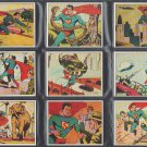 1984 SUPERMAN reprint card set of 1941 Gum Inc card set, 72 cards, NM/M