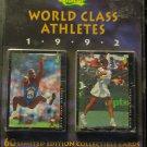 1992 Classic World Class Athletes factory LTD ED set, sealed, never opened, 60 cards