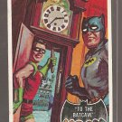 1966 Topps Batman (black bat) non-sports trading card #39 NM/M To The Batcave