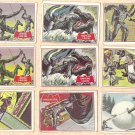 1966 Topps Batman red bat cards #2, 5, 9, 11, 13, 17, 21, 26, 29, 30, 31, 38, 41, 43, 44