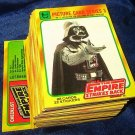 1980 Topps Star Wars Empire Strikes Back Series 3 card set (yellow border) NM/M 265-352