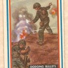 1953 Topps Fighting Marines card #67 Dodging Bullets EX