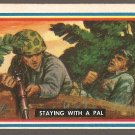 1953 Topps Fighting Marines card #58(B) Staying With A Pal EX