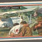 1953 Topps Fighting Marines card #52 (B) Dangerous Landing EX