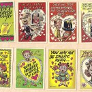 20 different 1959 Topps Funny Valentines non-sports cards, EX - NM/M