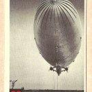 1956 Topps Jets card #88 Goodyear ZP3K, US blimp