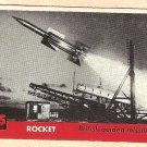 1956 Topps Jets card #185 Rocket, British Guided Missile
