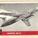 1956 Topps Jets card #193 Martin XB-51, US Bomber