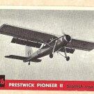 1956 Topps Jets card #226 Prestwick Pioneer II (2), Scottish Transport