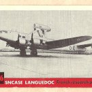 1956 Topps Jets card #236 Sncase Languedoc, French Research Plane