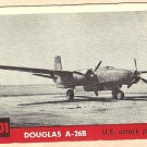 1956 Topps Jets card #201 Douglas A-26B, US Attack plane