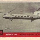 1956 Topps Jets card #75 Bristol 173, British Transport Helicopter