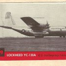 1956 Topps Jets card #119 Lockheed YC-130A, US Turboprop Transport